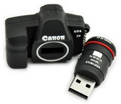 The Fappy Store Dslr Camera Hot Plug And Play 4 GB  Pen Drive (Black)