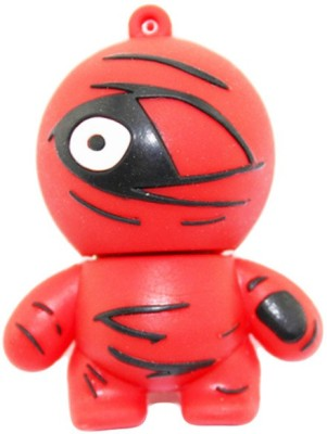 GeekGoodies Designer One Eye Ninja 8 GB  Pen Drive (Red)