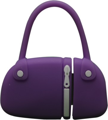 The Fappy Store Purse Hot Plug And Play 4 GB  Pen Drive (Purple)