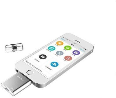 Mili HI-D91 32 GB  Pen Drive (Silver)