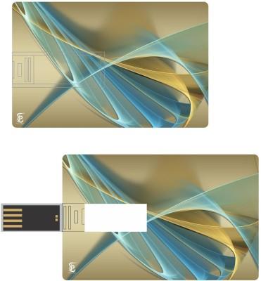 Print Shapes golden symphony Credit Card Shape