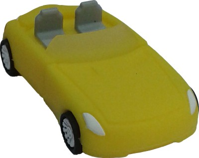 Microware 16GB Red Car Shape Designer Pen Drive