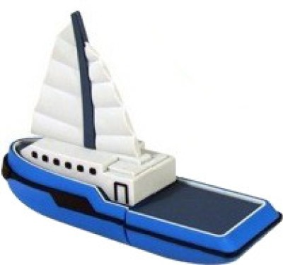 Microware 16GB Boat Yacht Ship Shape Pen Drive