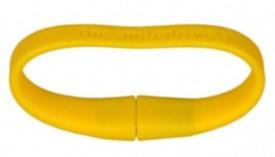 Smiledrive Wristband 16 GB USB 2.0 Fancy Pendrive - Yellow