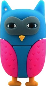 Microware 32 GB Owl New Multi Colour Shape Designer Fancy Pendrive