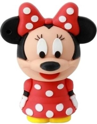 Microware 16GB Minnie Mouse Shape Pen Drive
