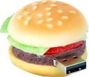 Microware 16GB Burger Shape 16 GB USB 2.0 Fancy Pendrive