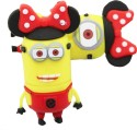 Microware 32 GB Minion Minnie Mouse Shape Designer Fancy Pendrive 32 GB Fancy Pendrive
