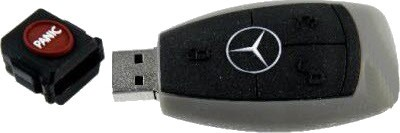 Microware Mercedes Benz Key Shape 16 GB Pen Drive