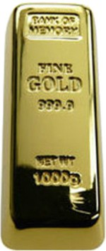 Smiledrive Gold Bar 8 GB