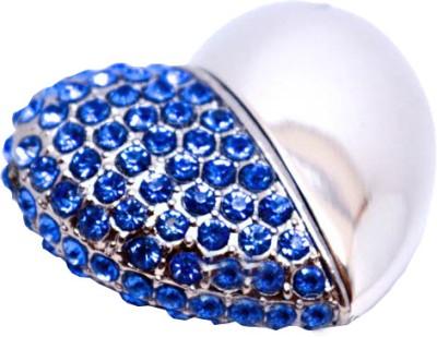 Microware-8GB-Blue-Heart-Shape-Designer-Pen-Drive