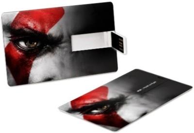 ZBEL WOS325-Credit Card 8 GB Fancy Pendrive (Black)