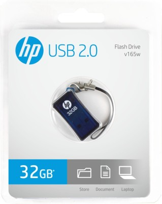 HP V-165 W - 32 GB Utility Pendrive (Blue)