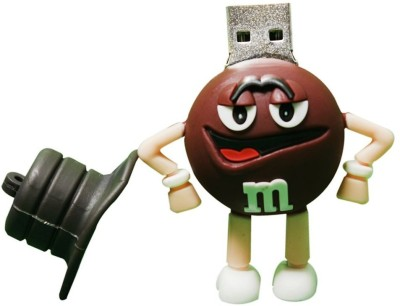 Dreambolic m&m 8 GB  Pen Drive (Brown)