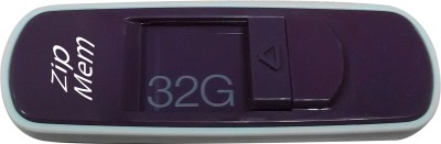 Zipmem S15P 32 GB  Pen Drive (Purple)