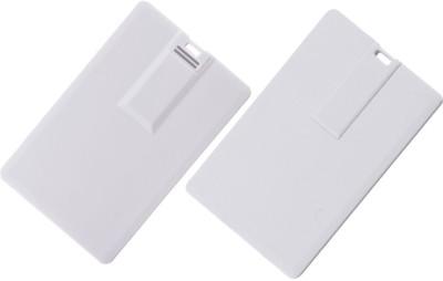 99Gems Credit Card Shape,Slimest 8 GB  Pen Drive (White)
