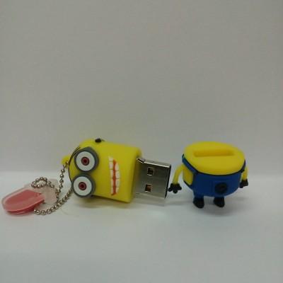 Vibes P-058 16 GB  Pen Drive (Yellow)