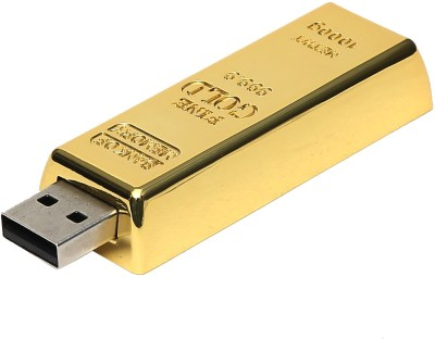 North Moon GOLDEN BISCUIT USB 16 GB  Pen Drive (Gold)