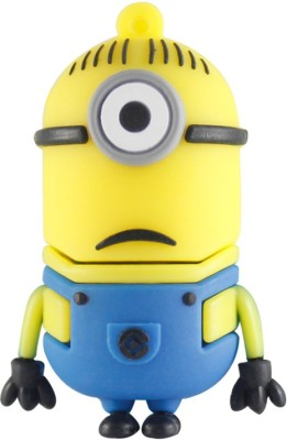 Chinmayi Stuart Minion 16 GB  Pen Drive (Multicolor)