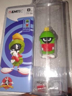 EMTEC Looney Tunes Marvin Pendrive 8 GB  Pen Drive (Green)