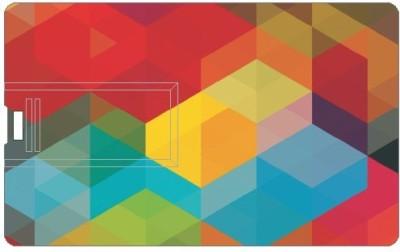 Design worlds Effect DWPC88516 8 GB  Pen Drive (Multicolor)