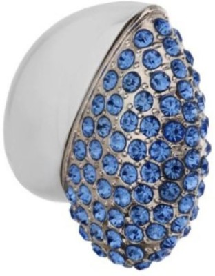 Digitalk Solution Fancy Jewel Heart Shape 16 GB  Pen Drive (Blue)