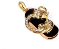 Microware Zodiac Sign Aquarius 16GB 16 GB  Pen Drive (Gold)