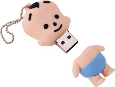 Yes Celebration Raju Chota Bheem 4 GB  Pen Drive (White)