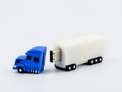 XElectron Truck Shape 4 GB  Pen Drive (Multicolor)