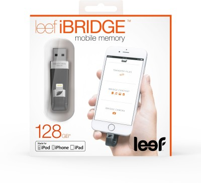Leef iBridge 64 GB  Pen Drive (Black)