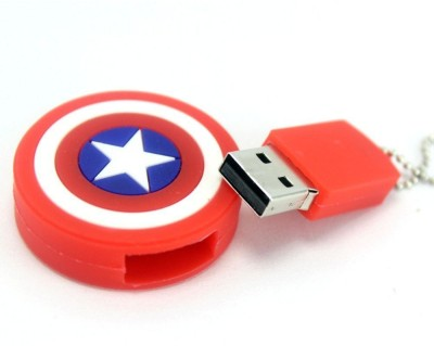 Dreambolic Captain America 32 GB  Pen Drive (Red)