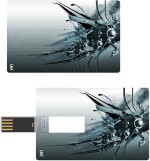 Print Shapes Steel abstract Credit Card Shape