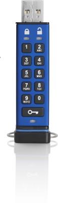iStorage datAshur Pro 8GB 8 GB Pen Drive (Blue)