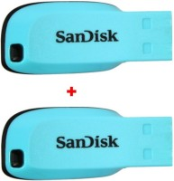 SanDisk CRUZER BLADE 32 GB  Pen Drive (Blue)