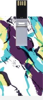 Garmor GRPd_845 Designer Printed Credit Card Shape 8GB Pendrive