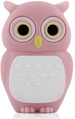 Dragon 3D Cartoon Owl shape 8GB capacity Cute Flash drive memory stick 8 GB  Pen Drive (Multicolor)