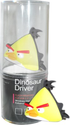 Dinosaur Drivers Angry Bird 8 GB  Pen Drive (Multicolor)