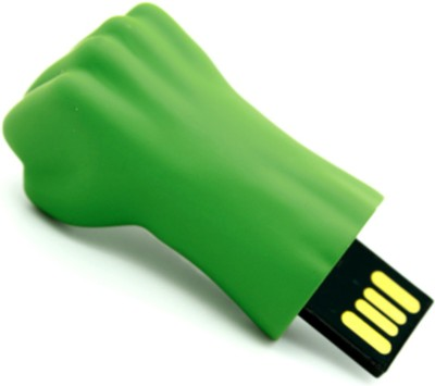 Portronics POR 452 8 GB  Pen Drive (Green)