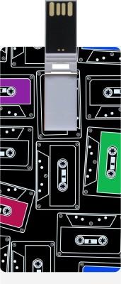 Garmor GRPd_425 Designer Printed Credit Card Shape 8GB Pendrive 8 GB  Pen Drive (Multicolor)