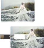 Print Shapes Princess in white Credit Card Shape