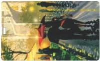 Printland Credit Card Romantic Walk PC80364 8 GB  Pen Drive (Multicolor)
