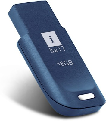 I-BALL CREST P9 16 GB  Pen Drive (Blue)