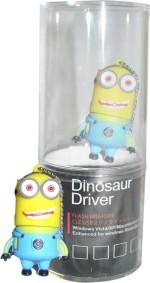 Dinosaur Drivers Yellow Minion