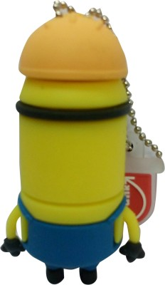 Vibes P-052 16 GB  Pen Drive (Yellow)