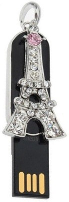 Quace Eiffel Tower 16 GB  Pen Drive (Silver)