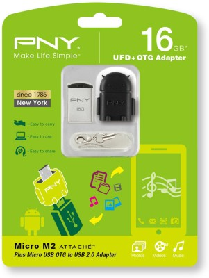 PNY Micro M2 Attache 16GB Pen Drive