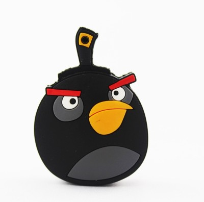 Shopizone Angry Bird 32 GB  Pen Drive (Black, Yellow)