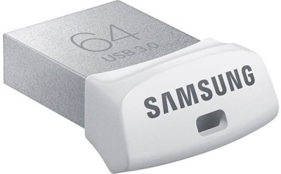 Samsung MUF-64BB USB 3.0 64 GB  Pen Drive (White)