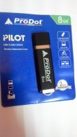 ProDot Usb Pilot 8 Gb Usb 2.0 8 GB  Pen Drive (Black, Blue)