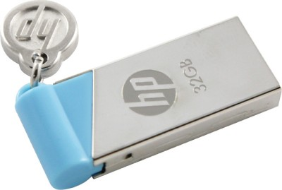 HP V 215 B 32 GB USB Utility Pendrive (Multicolor)